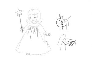 как нарисовать ангела 28