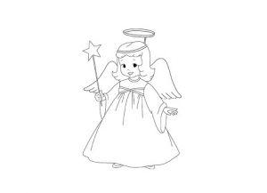 как нарисовать ангела 30
