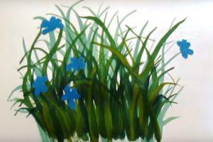 как нарисовать цветок поэтапно 22