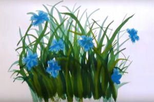 как нарисовать цветок поэтапно 25