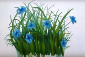 как нарисовать цветок поэтапно 26