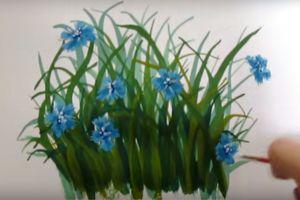 как нарисовать цветок поэтапно 27