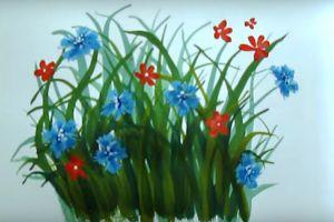 как нарисовать цветок поэтапно 31