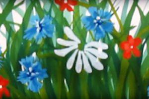 как нарисовать цветок поэтапно 32