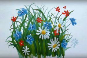 как нарисовать цветок поэтапно 34