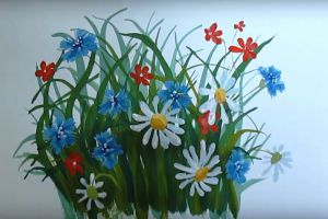 как нарисовать цветок поэтапно 35