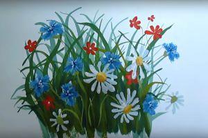 как нарисовать цветок поэтапно 36