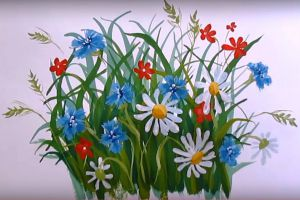 как нарисовать цветок поэтапно 39