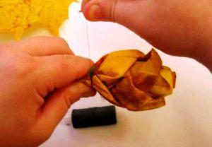 Осенний букет своими руками для детского сада 19