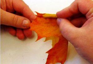 Осенний букет своими руками для детского сада 4