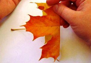 Осенний букет своими руками для детского сада 5