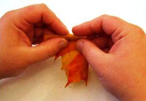 Осенний букет своими руками для детского сада 6