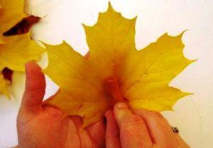 Осенний букет своими руками для детского сада 8