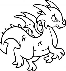 как нарисовать дракона 8