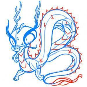 как нарисовать дракона 17