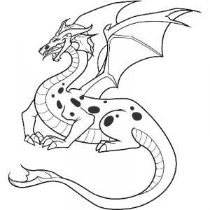 как нарисовать дракона 30
