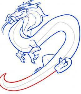 как нарисовать дракона 39