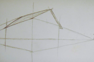 как нарисовать дом 5