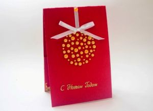 новогодние открытки своими руками с детьми 28