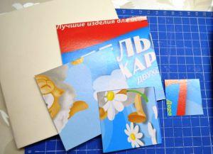 новогодние открытки своими руками с детьми 29