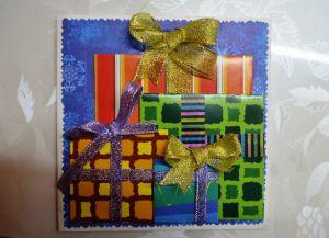 новогодние открытки своими руками с детьми 35