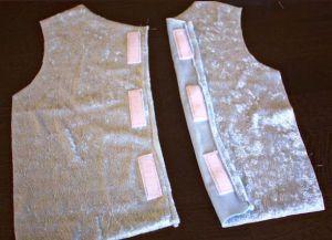 новогоднее платье для девочки своими руками 22