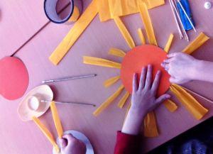 поделка на тему весна для детского сада 6