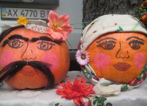 Поделки из овощей и фруктов на выставку2