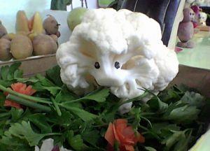 Поделки из овощей и фруктов на выставку5