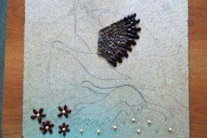 поделки из семян и круп своими руками1