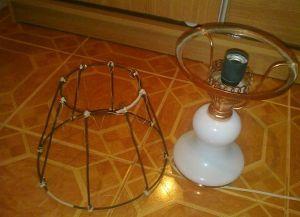 абажур для настольной лампы своими руками (1)