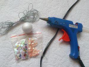 оригинальные елочные игрушки своими руками  8