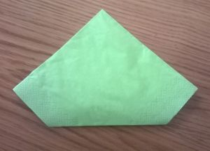 Как сложить бумажные салфетки для сервировки стола 12