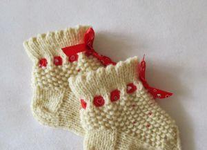 носочки для новорожденных11