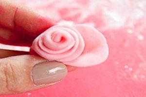 Розы из мастики мастер-класс для начинающих 4