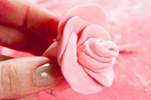 Розы из мастики мастер-класс для начинающих 5