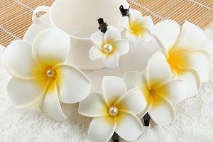 цветы из мастики без специальных инструментов 9