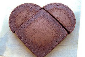 Торт в виде сердца своими руками