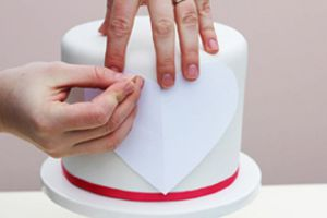 Тортики в виде сердца