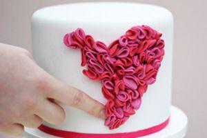 Как сделать торт в виде сердца