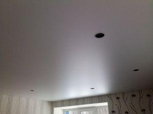5. Установка и монтаж светильников в натяжной потолок