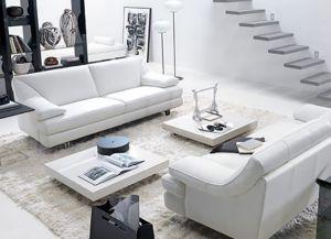 интерьер гостиной с белым полом2