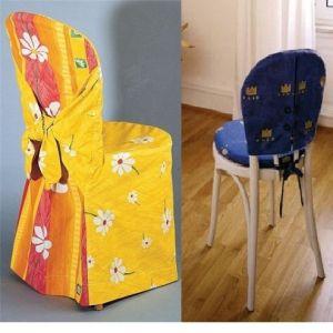Накидки на стулья своими руками12