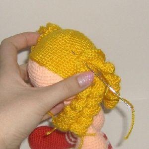 амигуруми куклы крючком 8