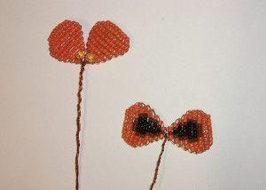 Анютины глазки из бисера схема плетения фото 927