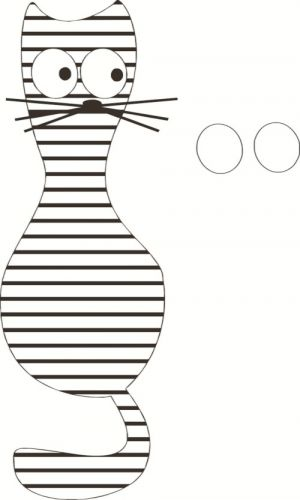 аппликация кошка5