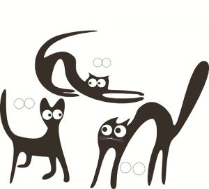 аппликация кошка8