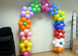 арка из шаров6