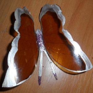 бабочки из пластиковых бутылок 10