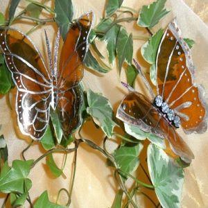 бабочки из пластиковых бутылок 17